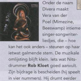 Vera van der Poel - Divera - Slagwerkkrant