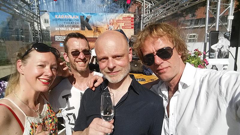 Vera van der Poel - met band