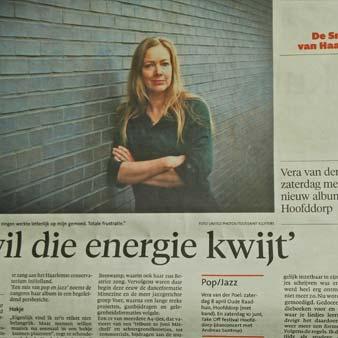 Vera van der Poel - Haarlems dasgblad