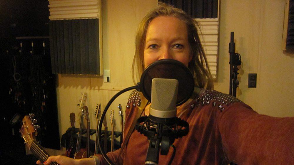 Vera in de studio