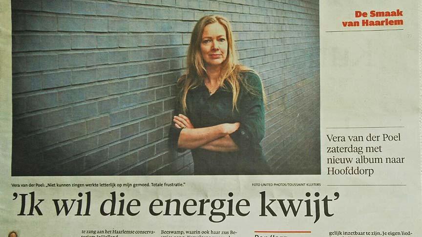 Vera van der Poel - Haarlems Dagblad