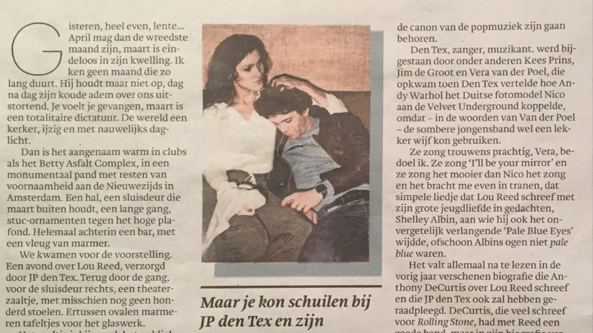 Trouw - The Storyteller Special